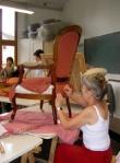 Depuis 2000, Brigitte encadre 4 cours de 3 heures à Brunoy, et elle exerce son talent depuis 2003 à Marolles où elle anime également 4 cours de 3 heures.